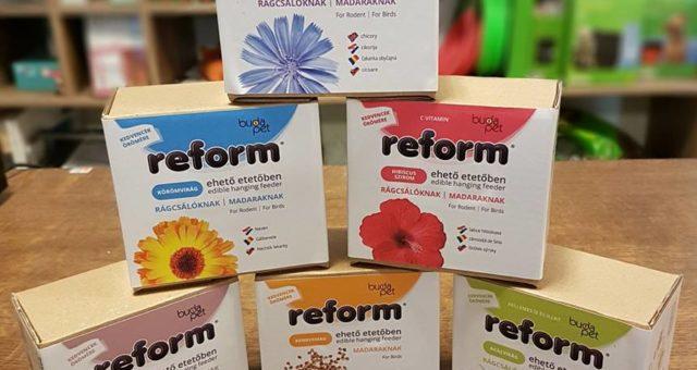 Reform tápok után, megérkeztek a Reform Boxok is!