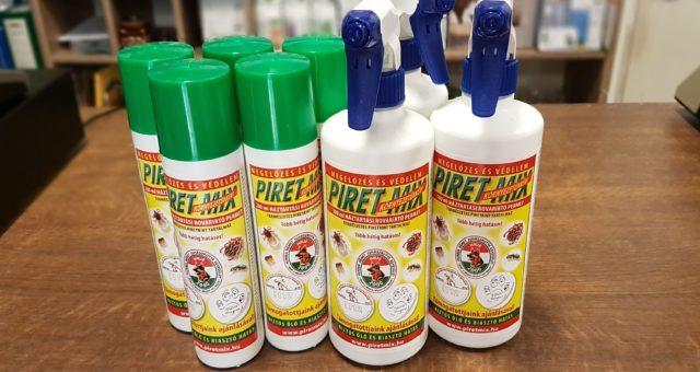 Poloskák irtására is hatékony a Piret-Mix permet
